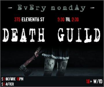 Death Guild Flyer