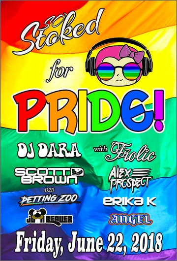 So Stoked: For Pride Flyer