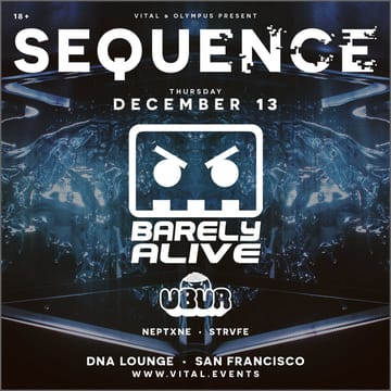 Sequence: Barely Alive Flyer