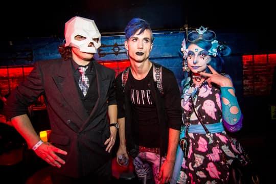 DNA Lounge: Death Guild: Mon, 31 Oct 2016: 140